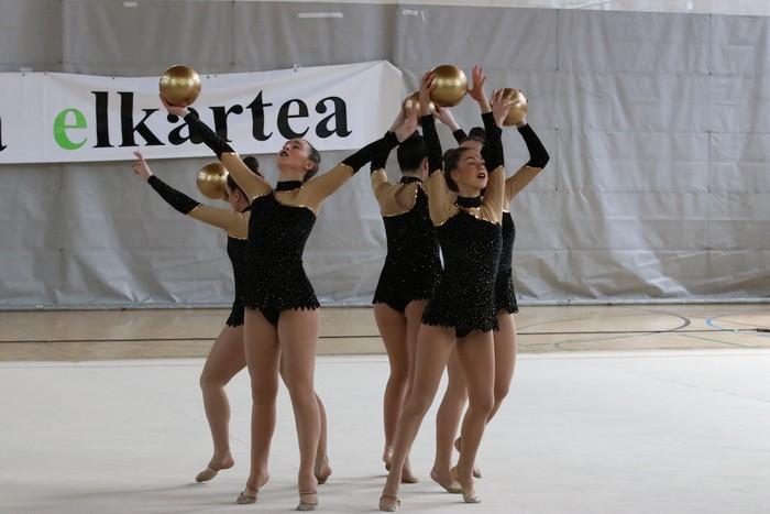 Maila bikaina gimnasia erritmikoko txapelketan - 31