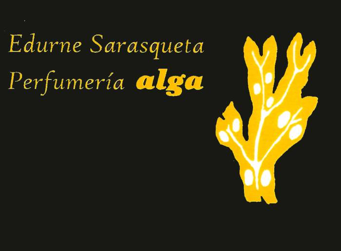 Alga Perfumeria lurrindegia logotipoa