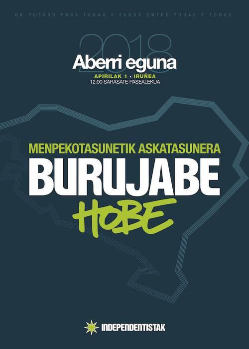 Euskal Herria berria jomugan:  EH Bildu eta EH Bairen Aberri Egunerako manifestua