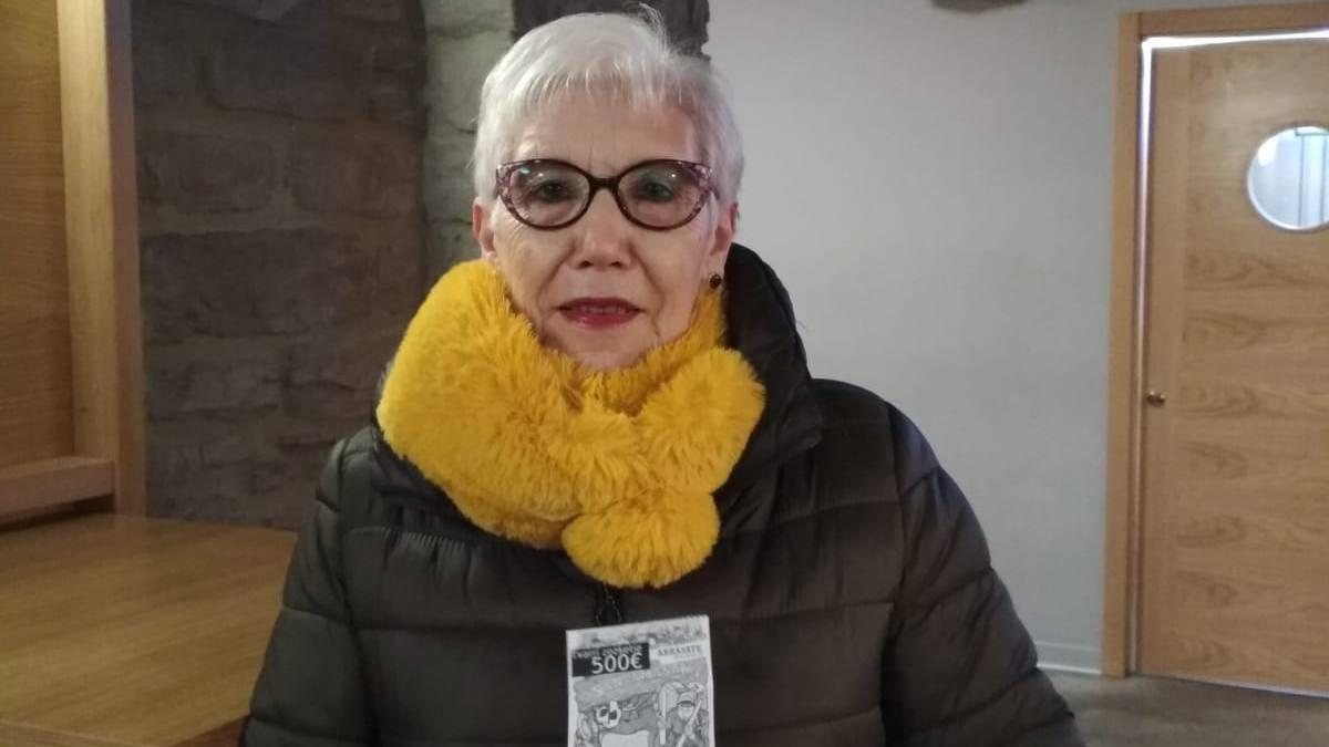Santamas eguneko txerri-zozketak badu irabazlea