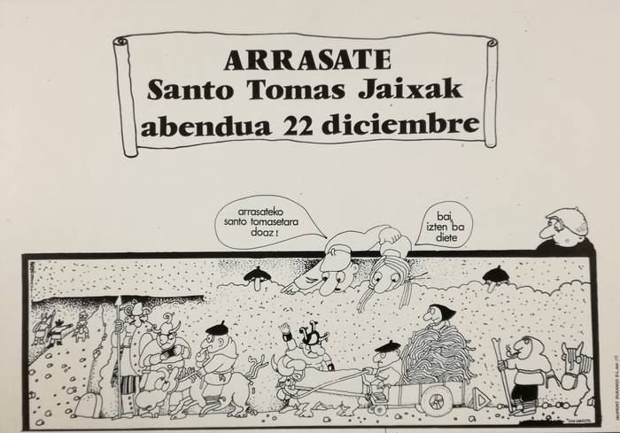 Santamasetako lehen kartelaren 40. urteurrena