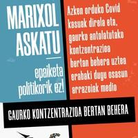 Kontzentrazioa: 'Marixol Askatu'