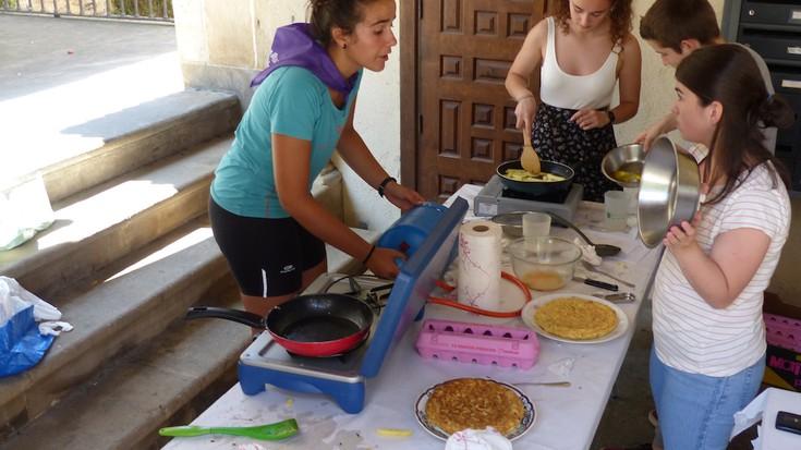 Patata tortilla lehiaketa, argazkitan