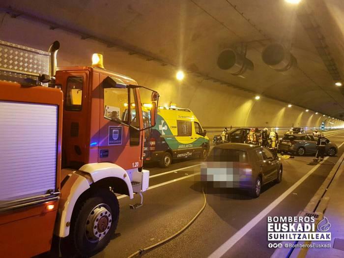Istripu-simulazioak egiten ari dira Olandixoko tunelean