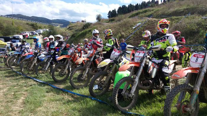 Euskadiko Moto-kros Txapelketako azken hitzordua egingo dute Bergaran