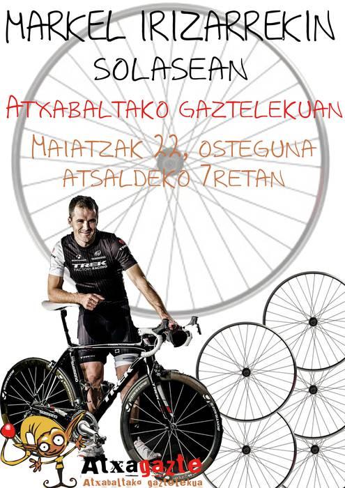 Markel Irizarrekin solasean Gaztelekuen!