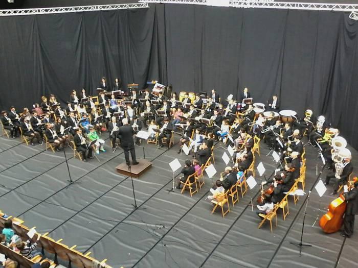 Bergarako udal musika bandaren lehen kontzertu pedagogikoa