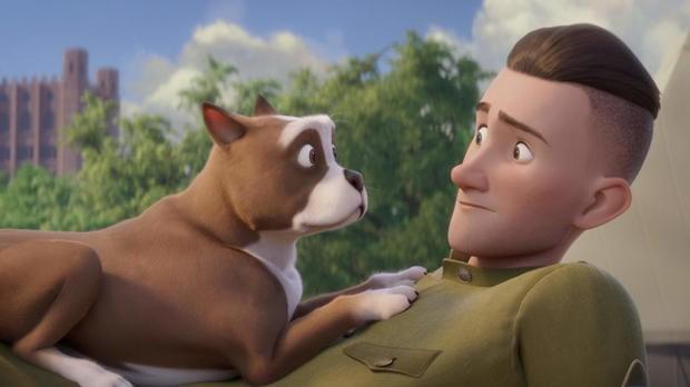 'Stubby, un heroe muy especial' filma