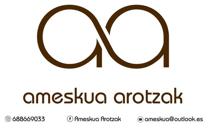 AMESKUA AROTZAK logotipoa