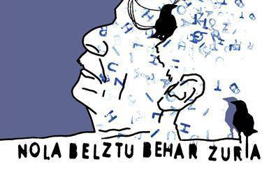 'Nola belztu behar zuria' ikuskizuna Zaldibarren