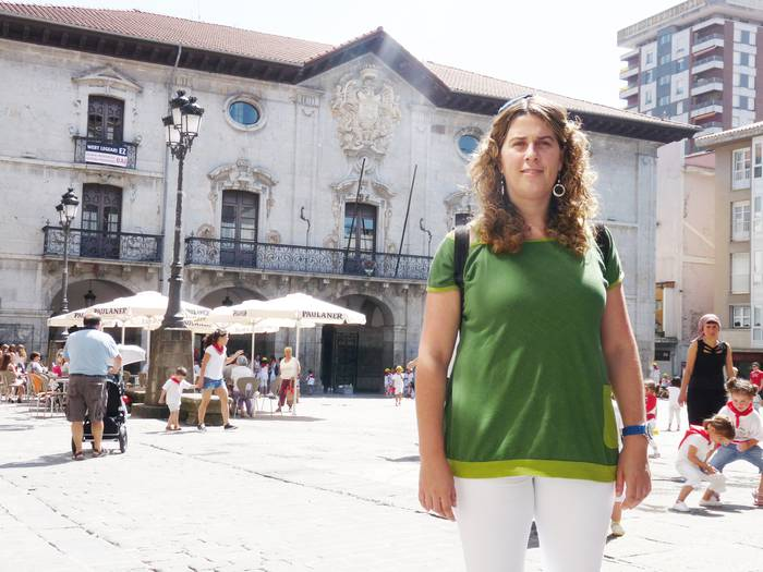 """Oihana Aranburu: """"Euskal Herriko une gogorrak bizitzea tokatu zitzaigun, tentsio handiko uneak izan ziren"""""""