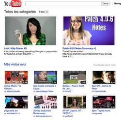 Youtube, aurrerantzean baita katalunieraz ere kanpaina bati esker