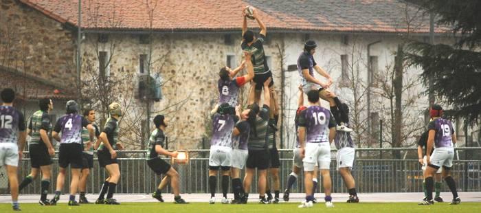Garaipen batekin hasi du liga Arrasate Rugby Taldeak Getxon (19-40)