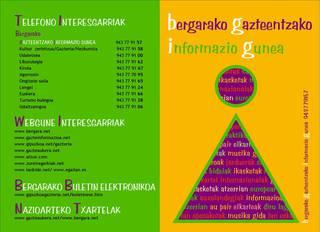 2007ko egutegia kaleratu du Gazte Informazio bulegoak