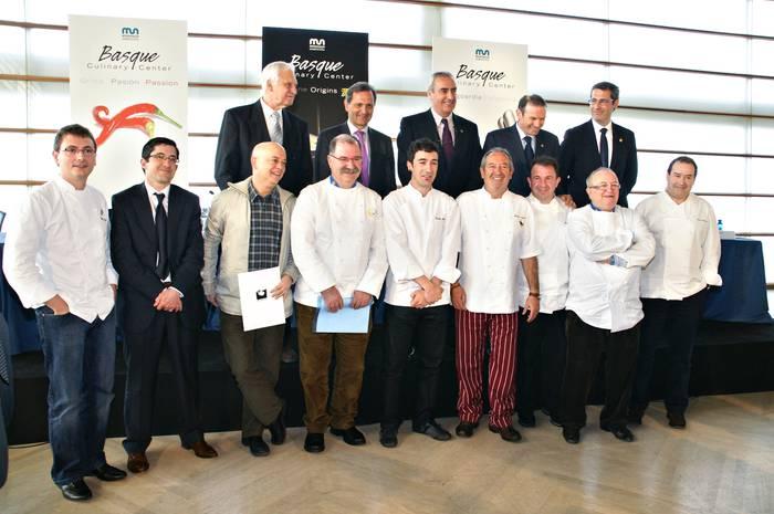 2011 urtean jarriko da martxan Basque Culinary Center zentroa