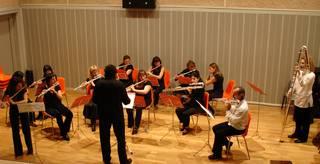 Euskal Herriko Flauta Orkestraren doinuak zapatuan