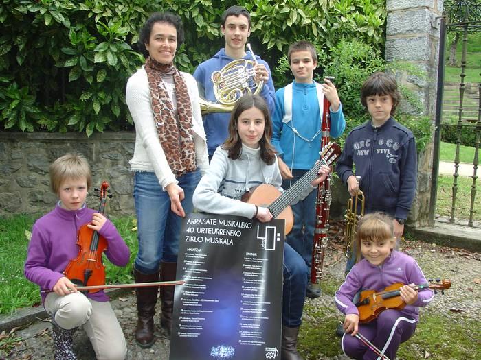 Instrumentu guztiak martxan Arrasate Musikaleko zikloan