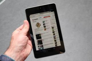 Harrera ezin hobea izan du Nexus 7 Google-en tablet berriak