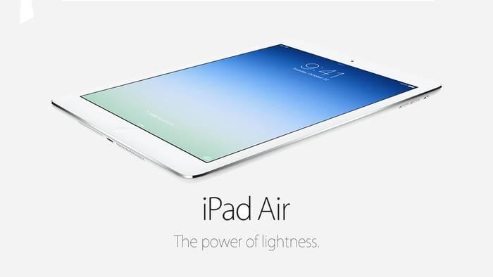 iPad Air arina eta Mavericks sistema eragilea, Apple-en nobedade nagusien artean