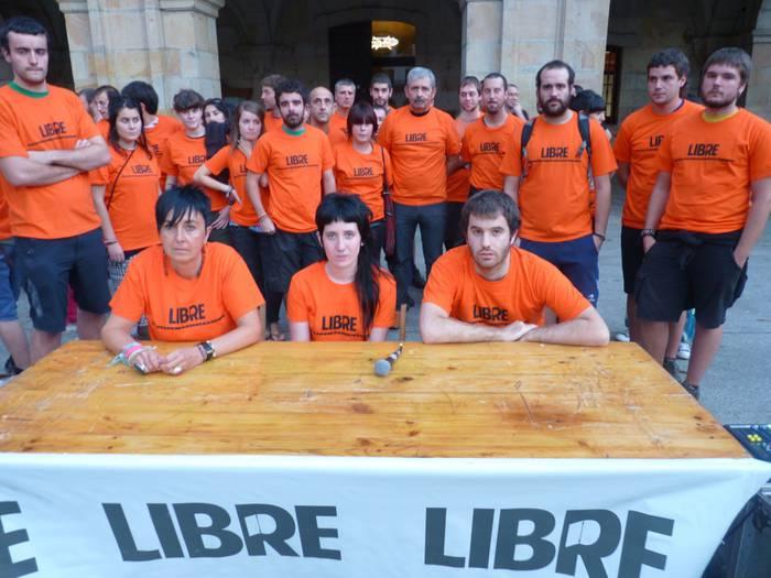 Makroepaiketen kontra mobilizatzeko deia egin du Libre plataformak Oñatin