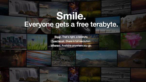Flickr berria abian da terabyte bateko doako edukierarekin