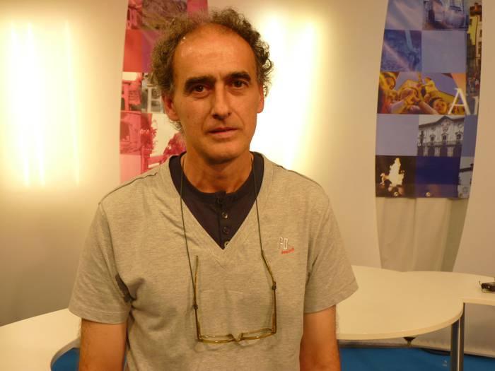 """Alberto Garai: """"Kirola egiten hasi aurretik osasun azterketa egitea oso garrantzitsua da, arazorik ez izateko"""""""