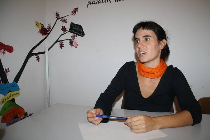 """Arianne Unamuno: """"Euskara elkarteak benetakoa eta eraldatzailea den energia soziala dira"""""""