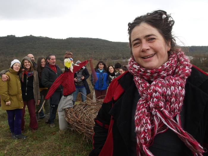 """Amaia Gabilondo: """"Ingurumena zainduz, eraldatuz eta biziberrituz, XXI. mendeko baserritarrak izan nahi dugu"""""""