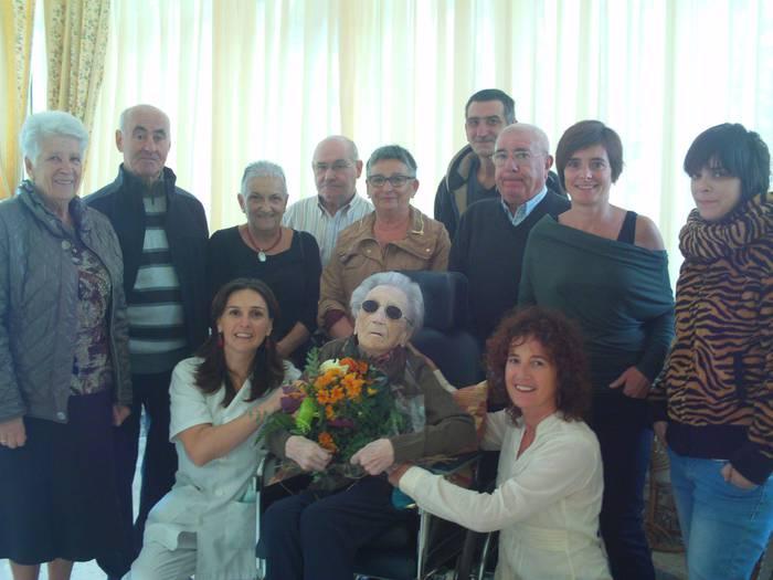 Teo Ortuzarrek 103 urte bete ditu