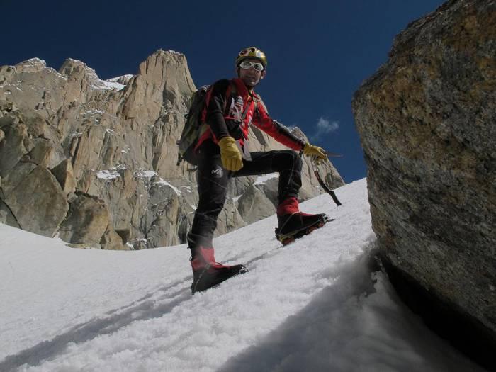 Paiju Peak-en hegoalde arriskutsua