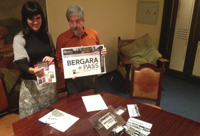 Bergara Pass turismo bonoa aurkeztu du Bergarako Udalak