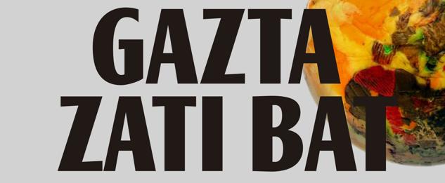 'Gazta zati bat' dokumentala Aramaion
