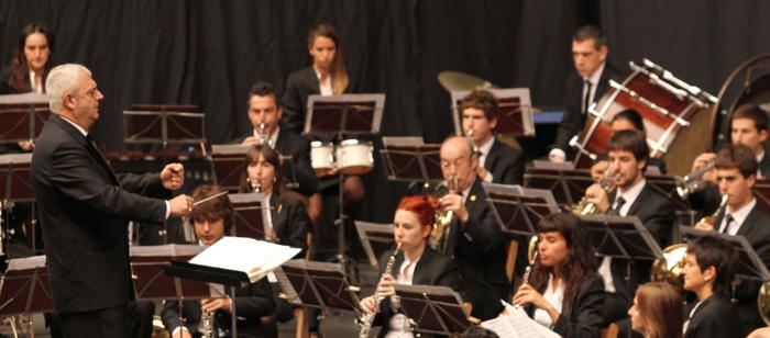 Bergarako udal musika bandaren kontzertua