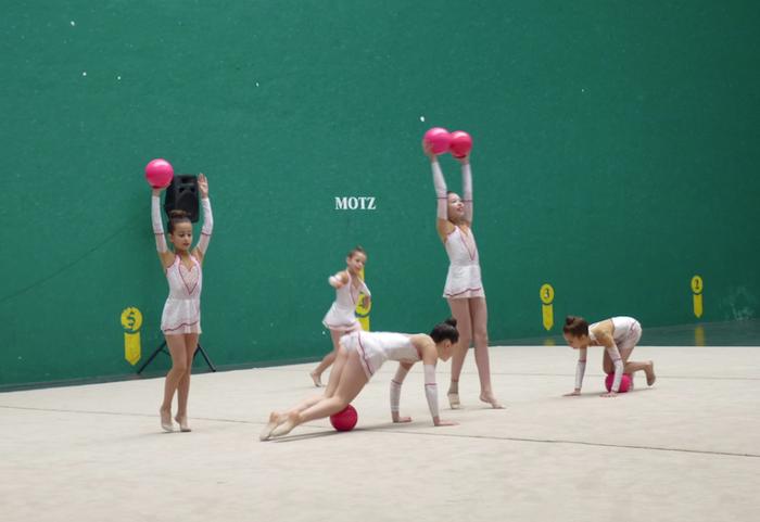 Antzuolako gimnastak Bergaran egingo dute erakustaldia gaur