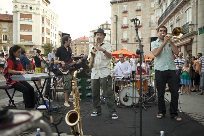 El Quinteto de la Muerte taldearen kontzertua