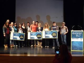 Iruñeko lan batek irabazi du Euspot euskarazko spoten lehiaketa