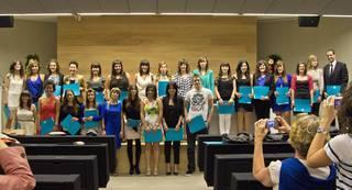 Oñatiko campuseko 61 ikaslek graduko eta graduondoko diplomak jaso zituzten barikuan