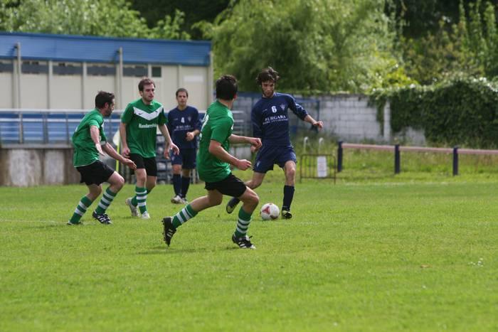 Bere atean sartutako golarekin galdu zuen Bergarak etxean: 0-1