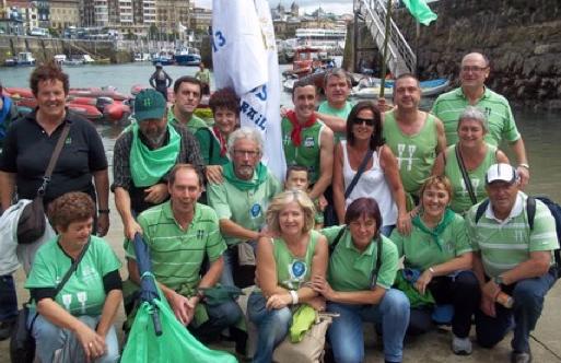 Kontxako bandera ekarriko dute Hondarribiko arraunlariek, zapatuan