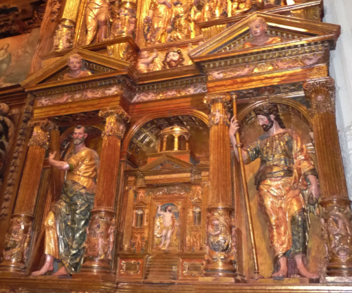 Elgetako parrokian dagoen Santiago apostoluaren erretaula ezagutzeko bisita gidatua zapatuan