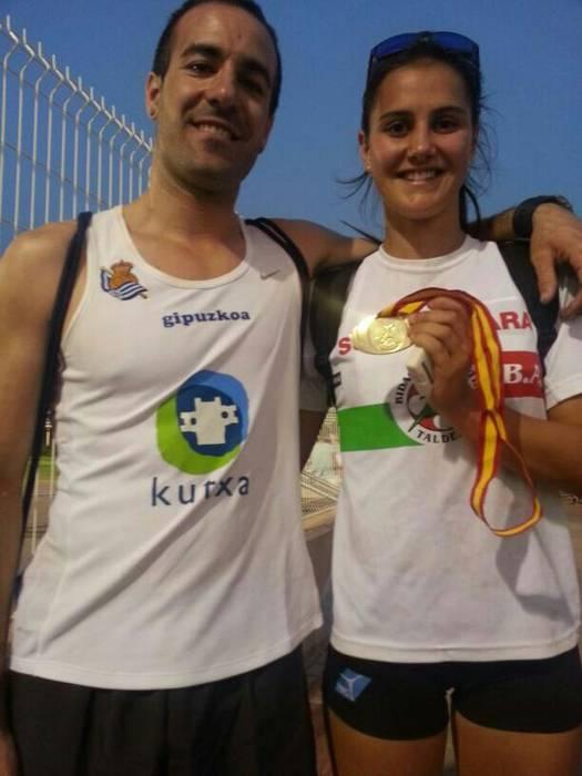 Malen Ruiz de Azua, Espainiako Txapeldun, junior mailan