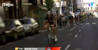 Markel Irizar protagonista Vueltan