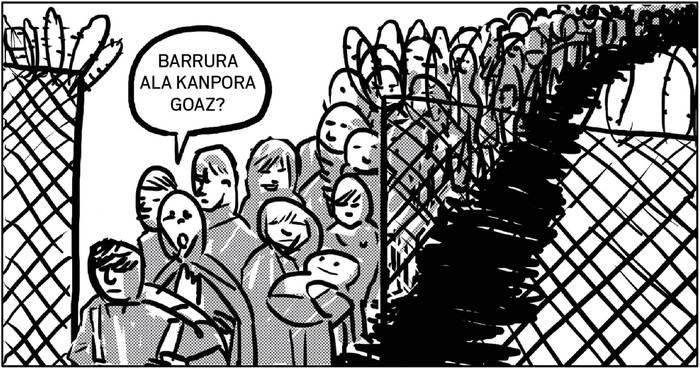 """Barrura ala kanpora?"""