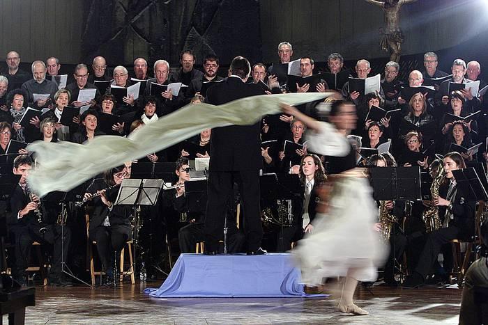 'Arantzazu' poema sinfonikoa, ikuskizun paregabea