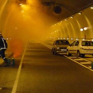 Istripu simulazioa Olandixoko tunelean