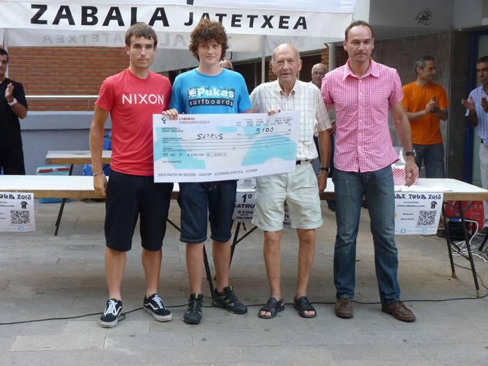 5.100 euro eraman ditu Gorka Irazolak Lokatzaren Tourreko porra irabazita