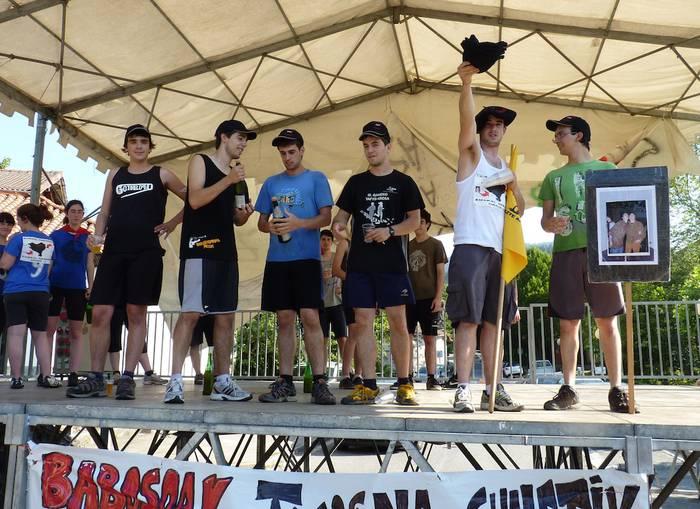 'Markel eta Txomin etxera' taldearentzat Aramaioko pikea