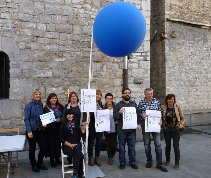 Herriko merkataritza sustatzeko 'Bergara bizi' ekimena sortu dute