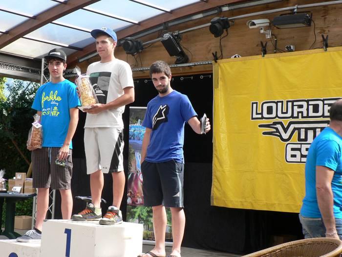 Pirinioetako Enduro Kopan, gurekoak podiumera