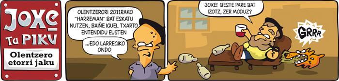 """Joxe ta Piku: """"Olentzero etorri jaku"""""""